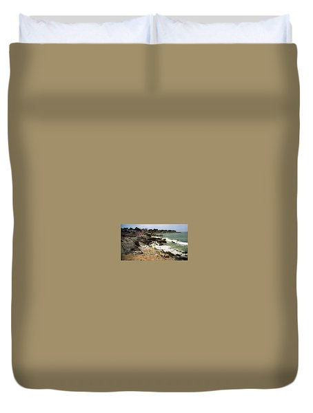 Pacific California Coast Beach Duvet Cover