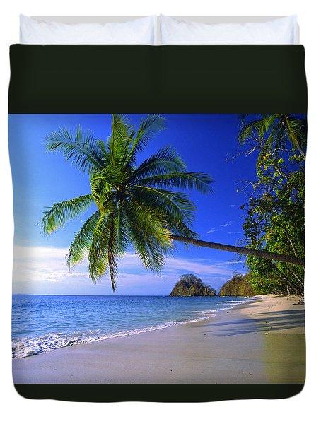 Pacific Coast Beach, Costa Rica Duvet Cover
