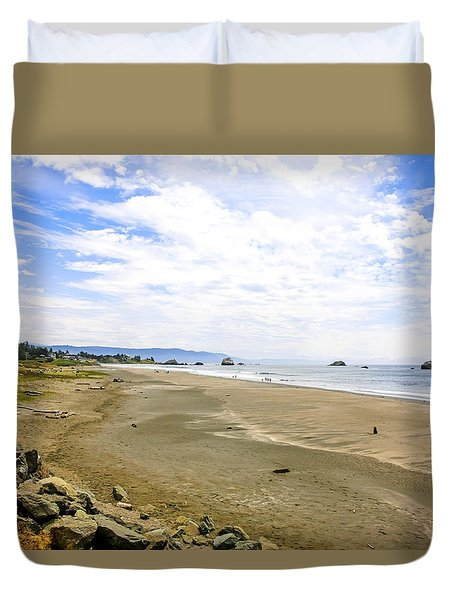 Pacific Coast California Duvet Cover