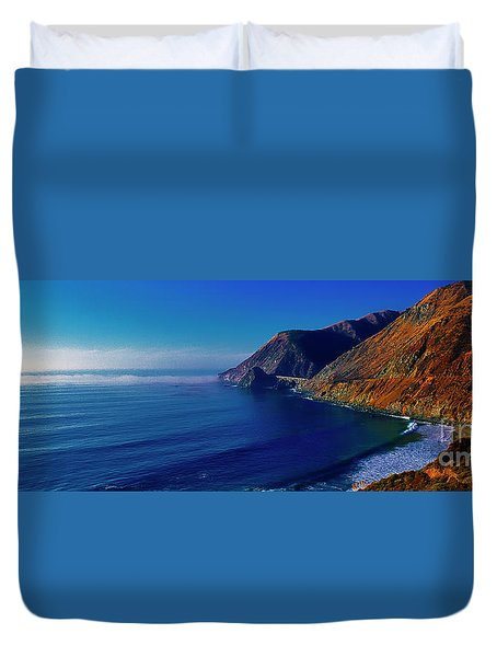 Pacific Coast Highway United States Duvet Cover