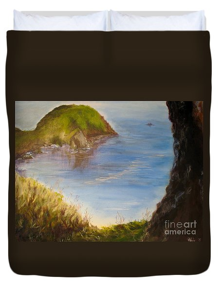 Pacific Cove Duvet Cover