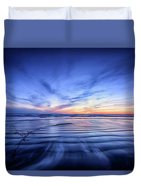 Pacific Marvel Duvet Cover