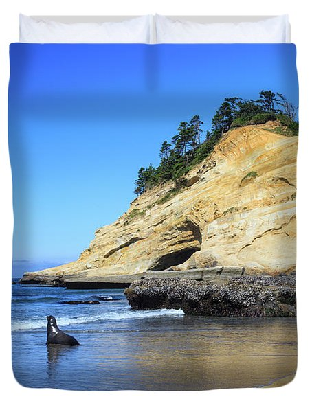 Pacific Morning Duvet Cover