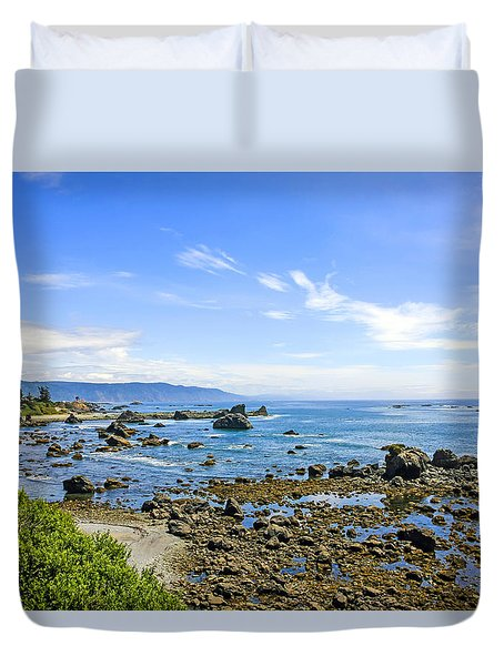 Pacific Northwest Duvet Cover by Chris Smith
