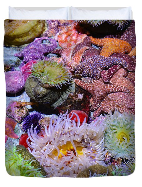 Pacific Ocean Reef Duvet Cover