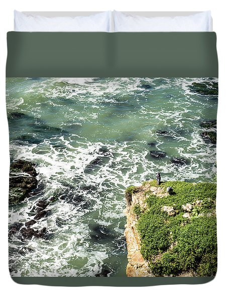 Pacific Overlook Duvet Cover