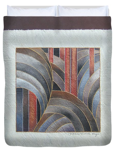 Pacific Palms II Duvet Cover