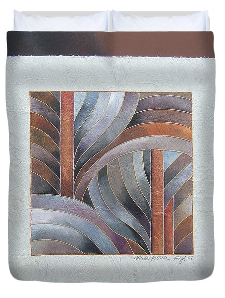 Pacific Palms IIi Duvet Cover