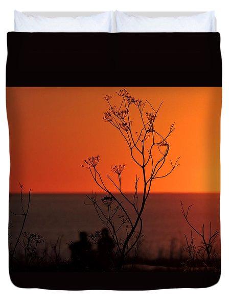 Pacific Sunset Duvet Cover