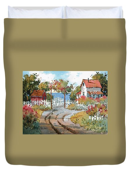 Pacific View Duvet Cover