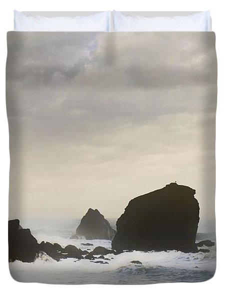 Pacifica Surf Duvet Cover by John Hansen