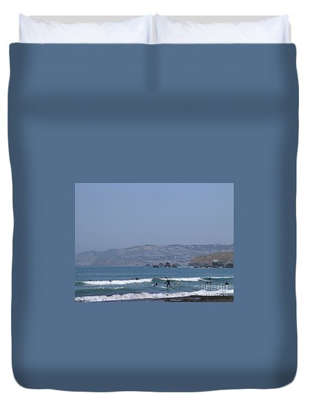 Pacifica Surfing Duvet Cover