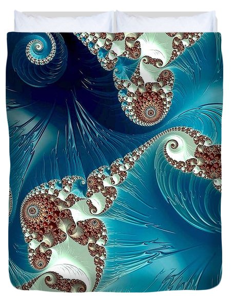 Pacifica Duvet Cover