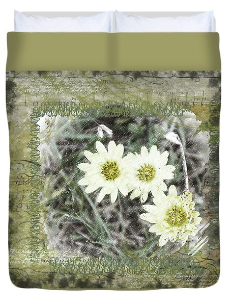Package Of Three Duvet Cover by Nadine Berg