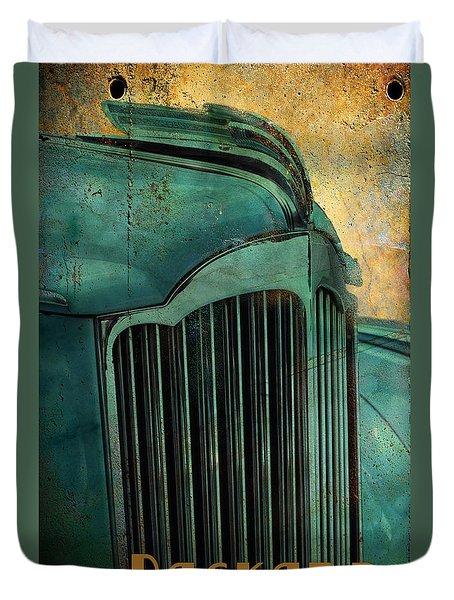 Packard Duvet Cover by Greg Sharpe