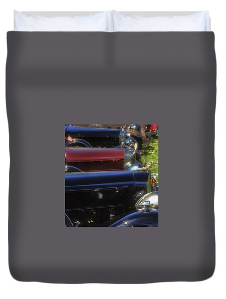 Packard Row Duvet Cover