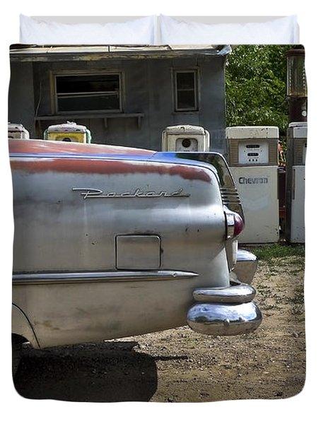 Packard Duvet Cover by Skip Hunt