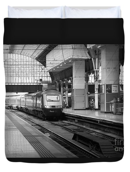 Paddington Station London Duvet Cover