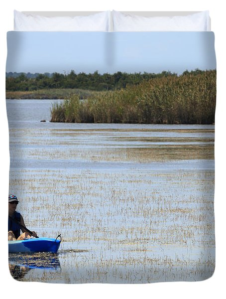 Paddle Away Duvet Cover