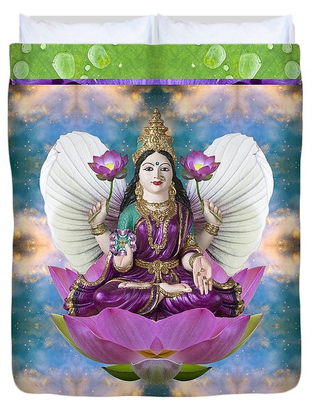 Padma Lotus Duvet Cover