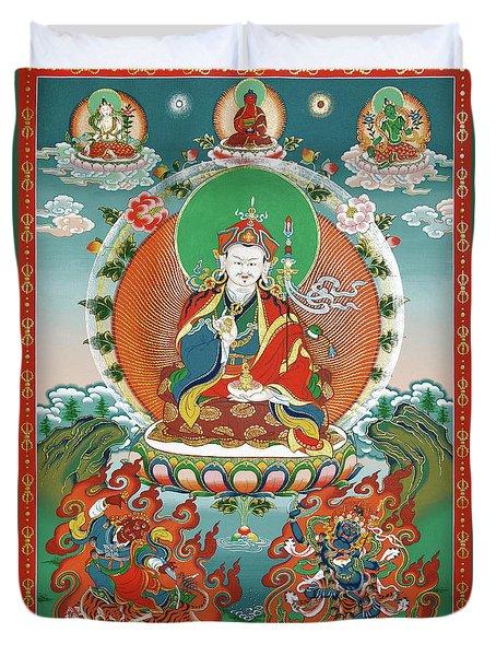 Padmasambhava Duvet Cover