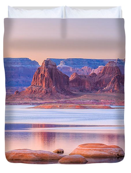 Padre Bay From Cookie Jar Butte Duvet Cover