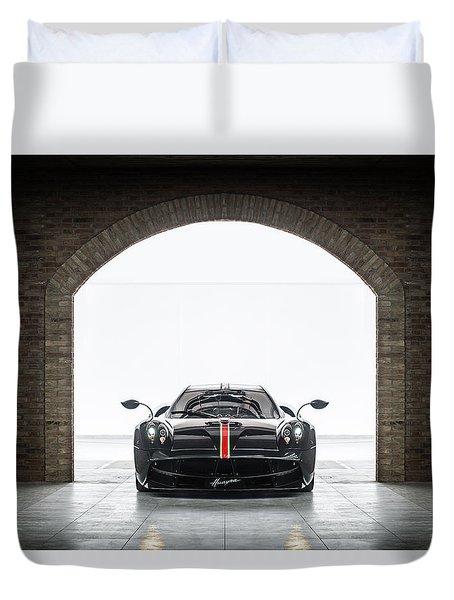 Pagani Huayra La Monza Lisa Duvet Cover