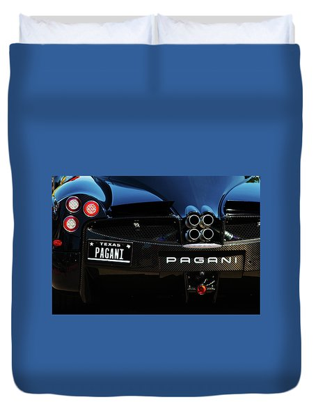 Pagani Texas Duvet Cover
