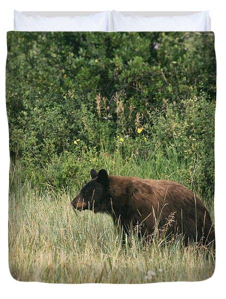 Pagosa Momma Bear Duvet Cover
