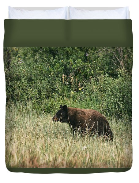 Pagosa Momma Bear Duvet Cover