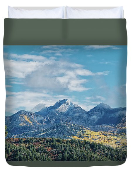 Pagosa Peak Autumn 2014 Duvet Cover