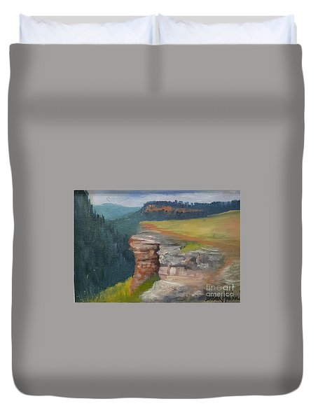Pagosa Springs View Duvet Cover