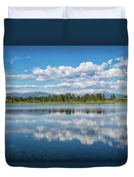Pagosa Summer Reflections Duvet Cover