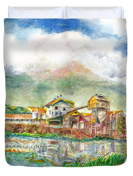 Paia Mill 1 Duvet Cover by Eric Samuelson
