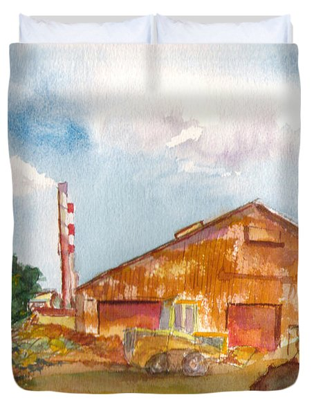 Paia Mill 3 Duvet Cover by Eric Samuelson