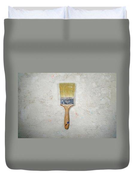 Paint Brush Duvet Cover