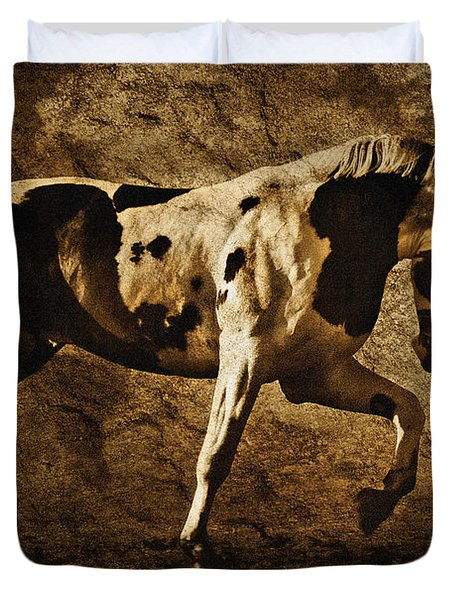 Paint Horse Duvet Cover