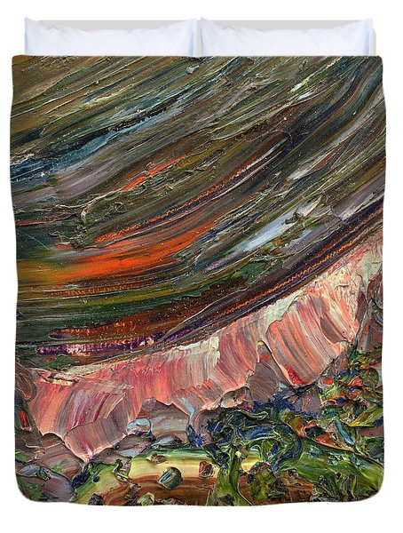 Paint Number 10 Duvet Cover by James W Johnson