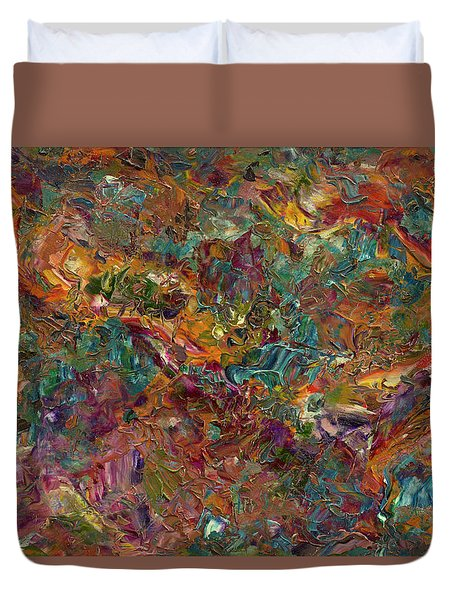 Paint Number 16 Duvet Cover