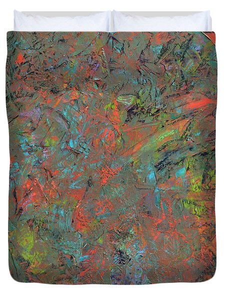 Paint Number 17 Duvet Cover by James W Johnson