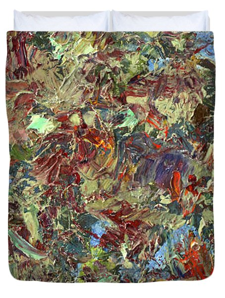 Paint Number 21 Duvet Cover by James W Johnson