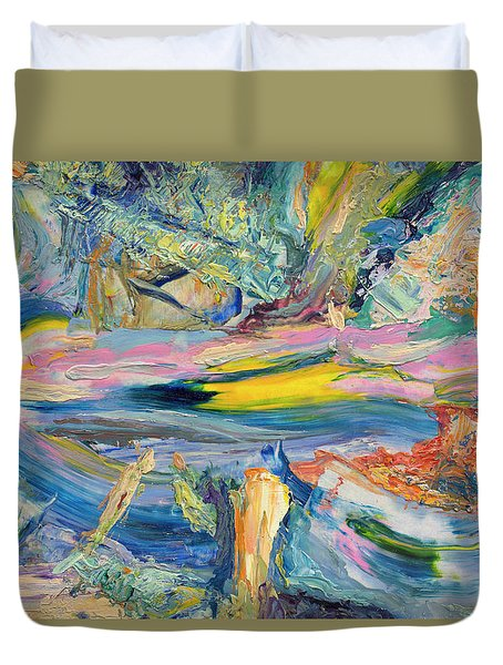 Paint Number 31 Duvet Cover