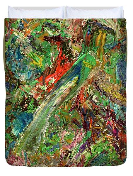 Paint Number 32 Duvet Cover