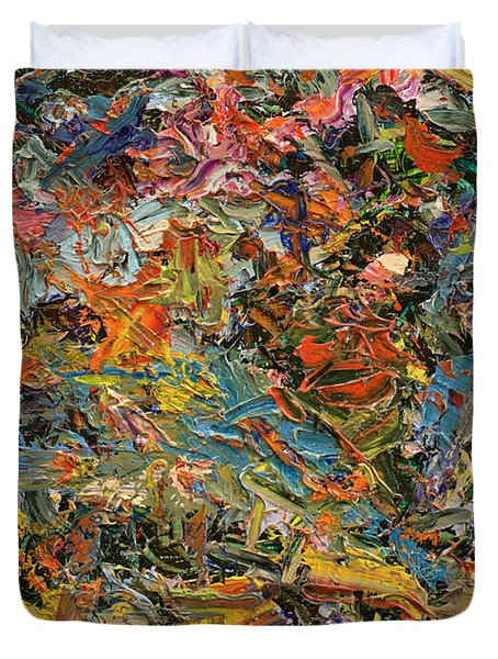 Paint Number 35 Duvet Cover by James W Johnson