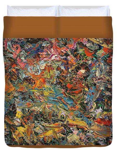 Paint Number 35 Duvet Cover