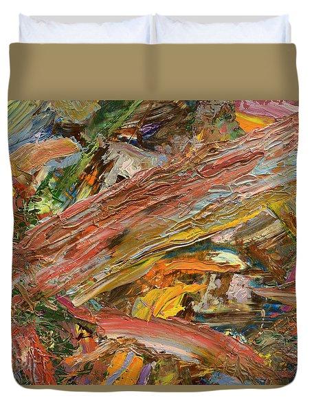 Paint Number 41 Duvet Cover