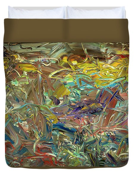 Paint Number46 Duvet Cover