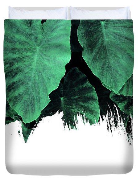 Paint On Jungle Duvet Cover