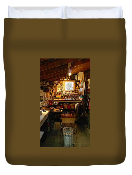 Paint Shed Duvet Cover