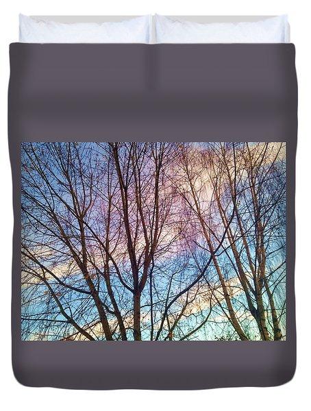 Paintbrush Duvet Cover